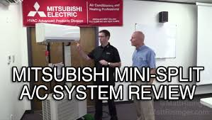 mitsubishi mini split cost mitsubishi mini split a c system review youtube