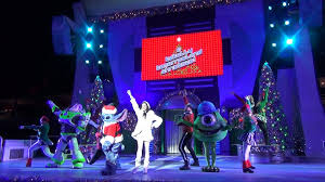 a totally tomorrowland christmas show at mickey u0027s very merry