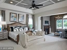 Master Bedroom Ceiling Fans by Traditional Master Bedroom With Ceiling Fan U0026 Stone Fireplace In