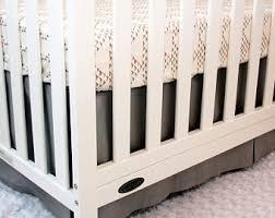 ruffle crib skirt etsy