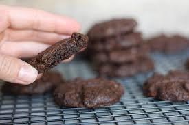 soft u0026 chewy double chocolate cookies