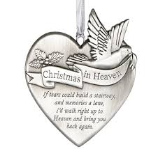 in heaven memorial ornament