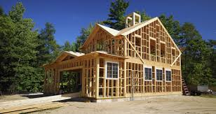 building an a frame cabin property in a box timber frame construction services in cyprus