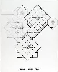 Art Studio Floor Plan Ecc Architecture And Art Art And Design Studios Fourth Level