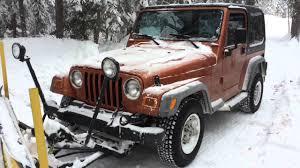 jeep wrangler canada déneigement au lac castor snow plowing at beaver lake qc