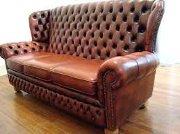 Vintage Chesterfield Leather Sofa Antique Chesterfield Sofa Ireland Ezhandui