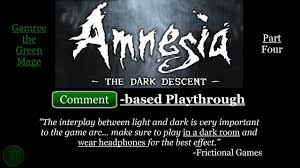 Games To Play In A Dark Room - amnesia the dark descent playthrough 04 orb visions and leaving