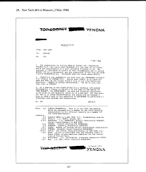 cover letter for cia part ii selected venona messages u2014 central intelligence agency