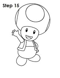 draw toad nintendo
