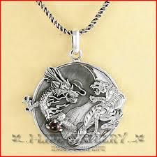 aliexpress yang fashion jewelry 925 silver men thai dragon tiger yin yang