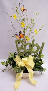 photo balloon centerpieces for baby image