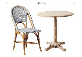 Single Bistro Chair 14 Dining Tables Chair Combinations Emily Henderson