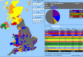 Create Electoral Map I U0027ve Created A Uk Wide Election Projection With An Interactive Map