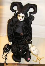 jester doll this one harlequin jester perriot