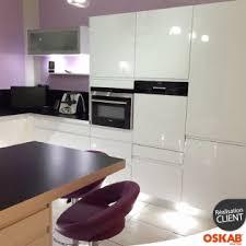 cuisine blanche brillante une cuisine blanc brillant avis oskab ecommerce