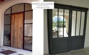 transformer un garage en bureau porte de communication vitrée portes decofinder concernant