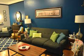 Dark Grey Accent Wall by Dark Blue Accent Wall Living Room Nakicphotography