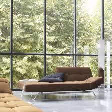 canapé cinna smala canapé lit contemporain en tissu par pascal mourgue smala