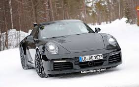 spied 2019 porsche 911 automobile magazine