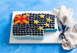 australia day flag pavlova recipe foodiful