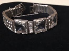 rhinestone buckle bracelet images 9 best vintage allco jewelry images bracelets jpg