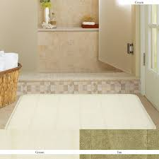 Rug For Bathroom Floor Bathroom Memory Foam Large Bath Rugs For Comfort Bathroom
