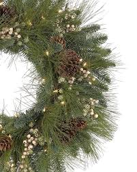 harvest pine wreath and garland treetopia