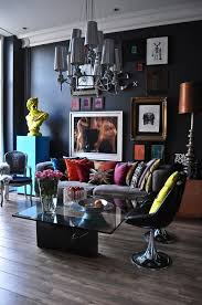 Modern Unique PopArt And ArtDeco Apartment In Bayswater London - Art deco bedroom furniture london