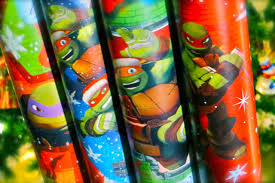 tmnt wrapping paper the sewer den 24 days of turtle 2014 day 9 gift wrap bundle