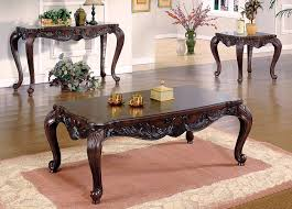 Cherry Coffee Table Creed I Cherry Coffee Table Formal Coffee Table Set