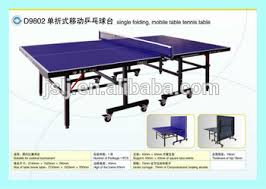 collapsible table tennis table china double fish main oem table tennis table supplier folding table