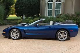 2004 corvette convertible for sale fs 2004 le mans blue corvette commemorative edition convertible