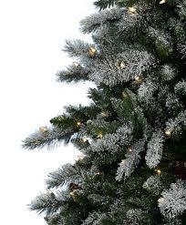 aspen spruce artificial flocked tree tree classics