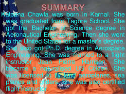 kalpana chawla demo lesson