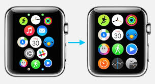 the apple watch home screen is a beautiful mess