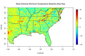 Us Climate Map Southeast Regional Climate Hub Climate Impacts On Loblolly Pine