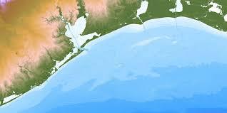 Texas Coast Map Bathymetry Tx Coast V0 1 Tnris Texas Natural Resources