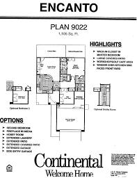 Sun City Az Floor Plans e Bedroom Floor Plans