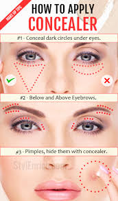 how to apply concealer important make up tips just for you