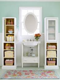 Under Pedestal Sink Storage Cabinet Bathroom Storage Solutions Less Truly Is More