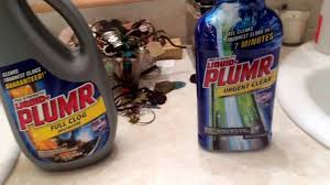 Kitchen Sink Clog Remover by Sink Drain Clog Remover Comparison Liquid Plumr Full Clog Vs