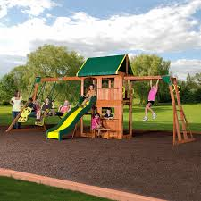 cedar view swingset promo pictures on awesome used outdoor swing