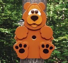 all cub tree dweller birdhouse woodcraft pattern