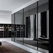Sliding Glass Mirrored Closet Doors Smoke Glass Sliding Door Wardrobe We This Pinteres