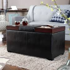 Ottoman Storage Bench Shoe Storage Ottoman Bench Diy Upholstered Coffee Table Storage