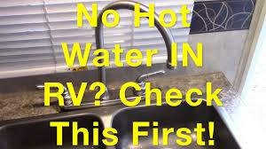 no water in rv check this first youtube