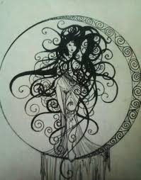 moon goddess tattoo images moon goddess tattoo by house of