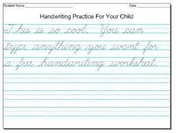 free printable handwriting sheets for kids 2017 fun coloring