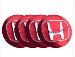 honda black friday honda red wheel center caps emblem 4 pcs 55mm 2 2 accessories