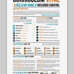 Resume Template With Picture Nice Resume Template 30 Free Beautiful Resume Templates To
